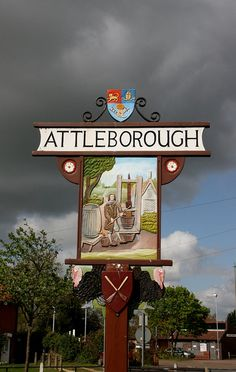 Attleborough, England. Where my grandad met my nana when he was stationed there in WWII, definitely stopping there on London trip