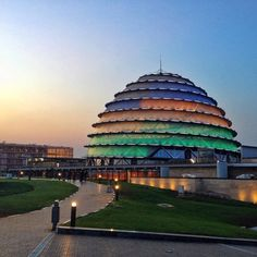 Kigali Convention Center Nice picture by @fruitfully_nikki