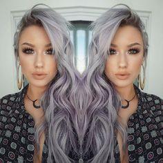 lilac hair color! Looove @kariechic