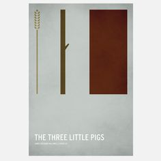 Three Little Pigs Poster 59x87, 39€, now featured on Fab.