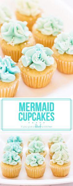 Mermaid cupcakes loo
