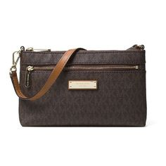 9e759c218ab7 Michael Kors Jet Set Travel Logo Wristlet Wallet, Women's Wristlet Wallet,  Travel Logo,