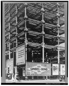 An uncompleted hotel on Main Street in Vincennes that was stated in 1929. It was never finished because of the Great Depression.