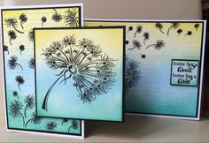 Suppliers of Heartfelt Stamps, Spellbinders, Justrite Stamps, Sue Wilson Dies Stamps Creative Expressions and all the latest in Card Making and Scrapbooking! Honey Doo Crafts, See On Tv, Card Making, Gallery Wall, Delicate, Paper Crafts, How To Make, Cards, Dandelions