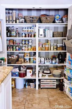 You don't have to add fancy shelves to make your food storage feel like brand-new. Once shelves are dedicated to serving specific purposes, it'll feel like you did way more than just throw out the food you know you're never going to eat anyway.