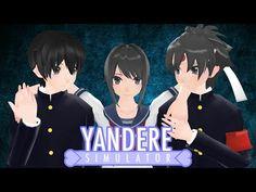 MMD- Love me Harder -Budo x Ayano x Taro- Yandere Simulator [Part Love Me Harder, Yandere Simulator, Deviantart, Videos, Panda, Animation, My Love, Drawings, Instagram