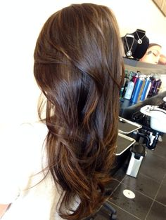 natural balayage asian - Google Search