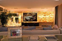 Home theaters ripado Onyx Marble, Cinema Room, Interior Decorating, Interior Design, Home Cinemas, Interior Exterior, Wall Treatments, Modern Luxury, Decoration