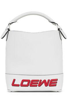Loewe T White Bucket Bag; loewe.com
