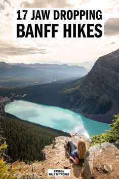 The 17 best Banff hikes with first hand descriptions, photos and guides! We'll tell you the trails you have to put on your list, where they are, what to expect and everything you need to know to tackle the best trails in the Rockies. Alberta Canada, Banff Canada, Rocky Mountains, Calgary, Canada Winter, Alberta Travel, Canadian Travel, Canadian Rockies, Canada Destinations