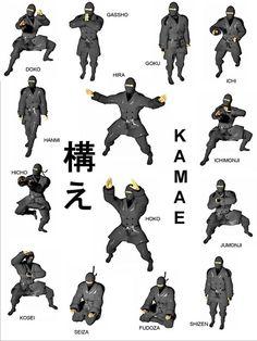the-ninja-a-go-go - - Martial Arts Styles, Martial Arts Techniques, Mixed Martial Arts, Art Techniques, Martial Arts Workout, Martial Arts Training, Ninja Training, Ninja Kunst, Karate Shotokan