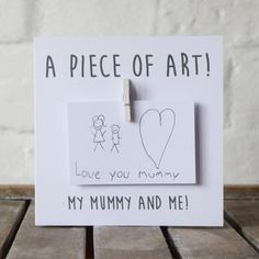 Personalised Draw A Picture Message Card - cards & wrap