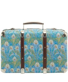 Blue Hera Print Miniature Suitcase, Liberty Print Suitcases. Shop more from the Liberty Print Suitcases collection online at Liberty.co.uk