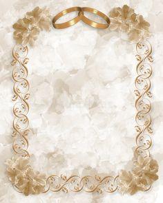 Wedding Invitation Gold Rings Floral Stock Illustration - Illustration of romantic, border: 4666282 Blank Wedding Invitations, Engagement Invitation Template, Indian Wedding Invitation Cards, Wedding Invitation Background, Wedding Invitation Card Design, Gold Wedding Invitations, Wedding Card Design, Wedding Cards, Wedding Illustration