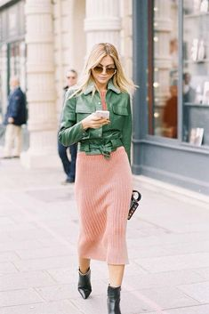 Fall outfit inspo | How to wear summer clothes in fall | What to wear | Dress | Jacket | More on Fashionchick