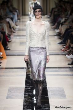 Armani Prive Haute Couture Осень-Зима 2017-2018