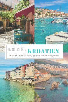 Top 10 Kroatien || Von der adriatischen Küste bis zu den Naturparks im Landesinneren gibt es in Kroatien viel zu entdecken. Unsere 10 ♥️-Orte findet ihr hier