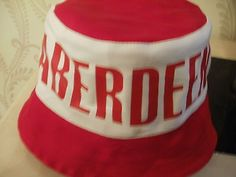 #Aberdeen football fans bucket hat #..new ..more than 1 #available,  View more on the LINK: http://www.zeppy.io/product/gb/2/381923683811/