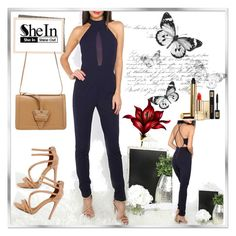 """""""shein 4"""" by woman-1979 ❤ liked on Polyvore featuring Yves Saint Laurent"""
