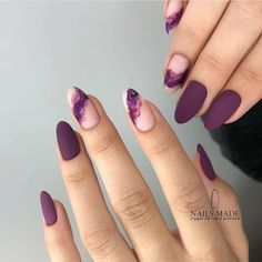 Stunning Mauve Color Nails To Squeal With Delight From - Nag.- Stunning Mauve Color Nails To Squeal With Delight From - Water Color Nails, Solid Color Nails, Nail Colors, Gel Nails, Acrylic Nails, Stiletto Nails, Coffin Nails, Nail Art Halloween, Almond Nails Designs