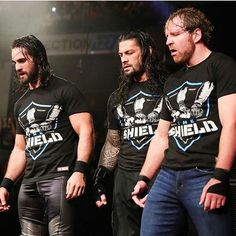 When Seth Rollins, Dean Ambrose, and Roman Reigns reformed The Shield last year it popped the crowd hard and the internet broke. The Shield Reunite, The Shield Wwe, Shield Logo, Sami Zayn, Matt Hardy, Roman Reigns Dean Ambrose, Wwe Superstar Roman Reigns, Braun Strowman, Roman Empire