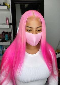 Natural Braided Hairstyles, Weave Hairstyles, Pretty Hairstyles, Black Girl Pink Hair, Black Girls, Curly Hair Styles, Natural Hair Styles, Colored Wigs, Aesthetic Hair