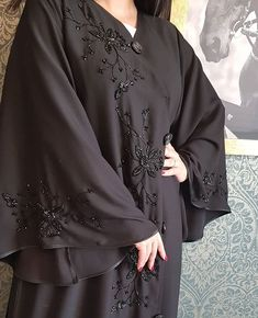 #Repost @wadeemh New looks #abayas #abaya #abayat #mydubai #dubai #SubhanAbayas Niqab Fashion, Street Hijab Fashion, Muslim Fashion, Abaya Designs Dubai, Abaya Designs Latest, New Model Abaya, New Abaya Style, Burqa Designs, Modern Abaya