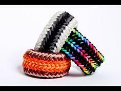 snake belly 1 loom - advanced rainbow loom bracelet - hardest design  Justin's Toys - Rainbow Loom Bracelet Tutorials