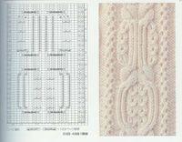 Hermosa colección de patrones de tejido en dos agujas para que crees tus tejidos primorosamente, dando un toque diferente y creativo.    ...