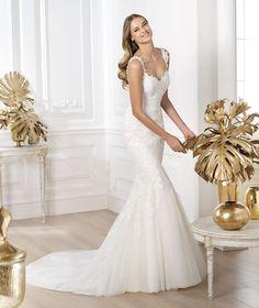 Pronovias te presenta el vestido de novia Land. Fashion 2014. | Pronovias
