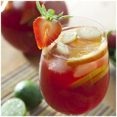 Stirrings Sangria Recipe on the Lilly Pulitzer Blog