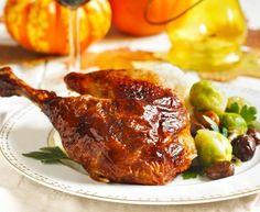 Dinde aux fruits secs et aux châtaignes : Recette de Dinde aux fruits secs et aux châtaignes - Marmiton
