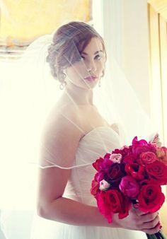 Bridal hair with veil - Alice Olson