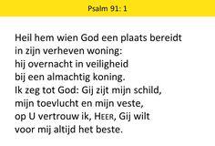 Afbeeldingsresultaat voor psalm 91 tekst