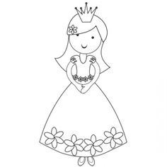 Disney Princess Silhouette Stencils White Princess Silhoue...