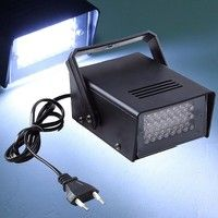 Features: 220V 3W 24LED Fitted with Angle Adjustable Mounting Bracket Can be use in Disco, Bar, Danc