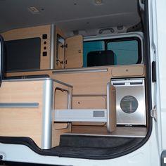 Opel Vivaro – Van Dream Madrid F35, Opel Vivaro Camper, Toyota Hiace Campervan, T5 Caravelle, Build A Camper Van, Van Conversion Interior, Renault Master, Campervan Interior, Van Camping