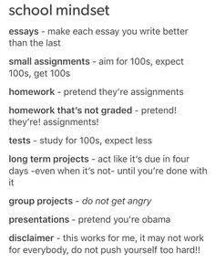pin ✰ bellaxlovee The group presentations part is so accurate lol High School Hacks, College Life Hacks, Life Hacks For School, School Study Tips, School Tips, College Study Tips, Study Skills, Study Hard, Study Notes