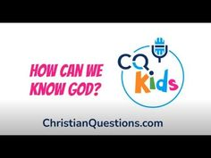 How can we know God? CQ Kids Bible Videos For Kids, Knowing God, Our Kids, Canning, Youtube, Home Canning, Youtubers, Youtube Movies, Conservation