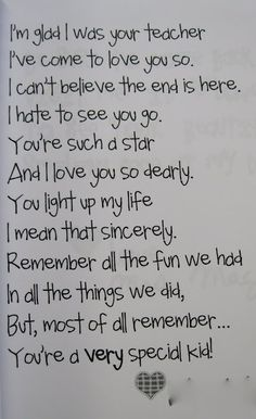poem for the end of the year!