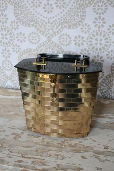 Vintage 1950's Dorset Rex Gold Woven Metal Purse by pursuingandie, $52.50