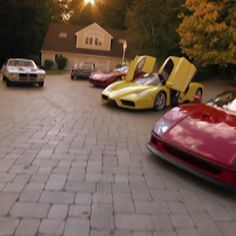 That's a lot of Ferraris. Mtv Cribs, Barbie Dream House, Bitcoin Price, Celebrity Houses, Cozy House, Sport Cars, Decoration, Amazing, Decor