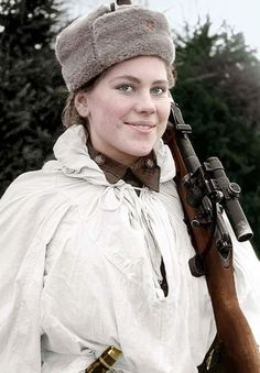 The legendary beauty Sniper WWII Shaninа Rosa died from wounds January 28, 1945 at age 20. From a large family of Shanin NOBODY returned from the war. Eternal Glory to the Heroes!