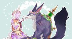 Soraka and warwick -League of  Legends