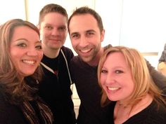 April 9th, 2015 In Ct w Angie & Christine!