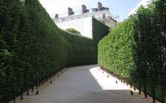 quincy hammond landscape architect / a+f, paris Modern Landscaping, Backyard Landscaping, Formal Gardens, Outdoor Gardens, Landscape Design, Garden Design, Modern Castle, Garden Hedges, Driveway Design