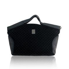 Roccobarocco-nowa pikowana aksamitna włoska torba