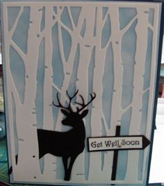 Get well card, but would work for Christmas too!