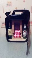 black jerry can bar /mini bar/ camping / drinks carrier / fishing military