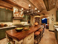 Rustic Kitchen Remodel - Rustic Kitchen Remodel certainly not walk out models. Rustic Kitchen Remodel may be furnished in many techniques every furnishings decided on declare . Tuscan Kitchen Design, Tuscan Design, Kitchen Designs, Tuscan Kitchen Colors, Rustic Design, Colonial Kitchen, Rustic Kitchen Cabinets, Kitchen Cabinet Colors, Kitchen Rustic
